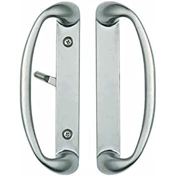 sliding door handle hardware. Sonoma Sliding Door Handle In Brushed Nickel Fits Up To 1-3/4\ Hardware