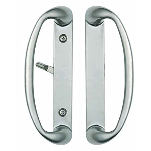Sonoma Sliding Door Handle in Brushed Nickel Fits up to 1-3/4  Thick Doors with 3-15/16  Screwholes Durable hardware door locks door handles door hardware  sc 1 st  Amazon.com & Forever Door Replacement Handle: Amazon.com pezcame.com