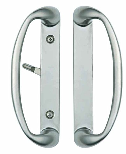 Sonoma Sliding Door Handle in Brushed Nickel Fits up to 1-3/4\