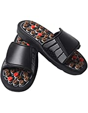 Percetey Reflexology Foot Massager, Massage Flip Flops Slippers Sandals for Men Women, Neuropathy Arthritis Plantar Fasciitis Pain Relief