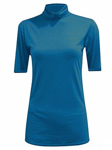 JAVOX Fashion's - Camiseta - para mujer Teal