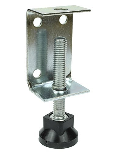 12 X Baseboard Adjustable Brackets   With Levelling Feet