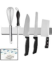 12 Inch Magnetic Knife Strip Stainless Steel Kitchen Knives Bar, Magnetic Knife Rack for Home Kitchen Utensil Organizer Tool Holder
