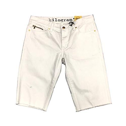 cheap Kilogram White Jean Shorts - gilshaham.com