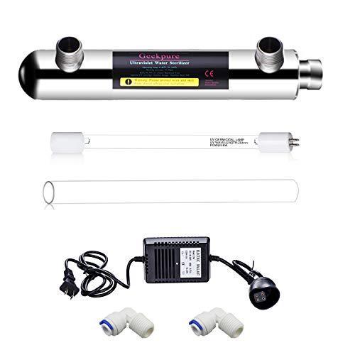 ultraviolet light water filter uv