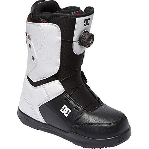 DC Scout BOA Snowboard Boots White Mens Sz 13 ()