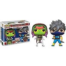 [Patrocinado] Funko POP Juegos: Marvel VS Capcom–Gamora vs Strider–Paquete de 2Fye exclusivo
