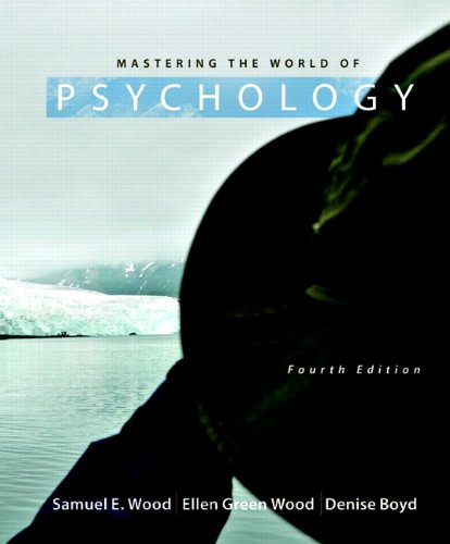 Mastering the World of Psychology 4th Edition