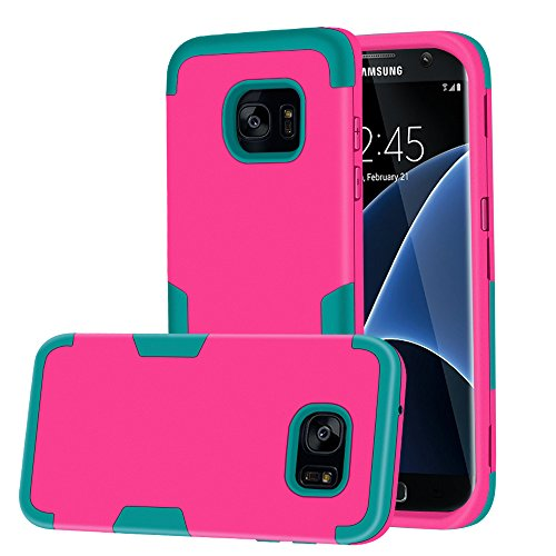 Shockproof Armor Case for Samsung Galaxy S7 Edge (Orange) - 4