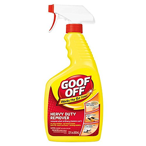 Goof Off FG659 Heavy Duty Remover, Trigger Spray, 22-Ounce 2-Pack ()