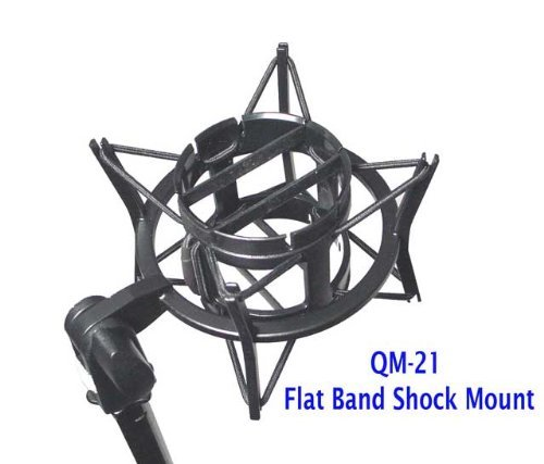 Q-Mic QM-21 Shock Mount Flat Band Design