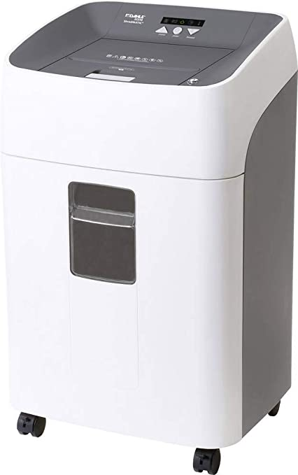 Oferta amazon: Dahle - Destructora de papel (alimentación automática, 80 hojas/120 hojas/300 hojas, P-4, corte en partículas)