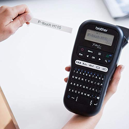 Brother PT-H110 Label Maker, P-Touch Labeller, QWERTY