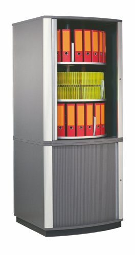 Bindertek Hipaa Compliant Five Tier Lockfile Carousel