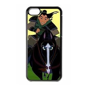Mulan II iPhone 5c Cell Phone Case Black Hxwzu
