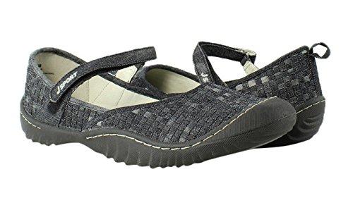 J-41 Jsport Di Jambu Sj17cra01-004 Slipper Shoes Womens Slippers Size 9.5 New
