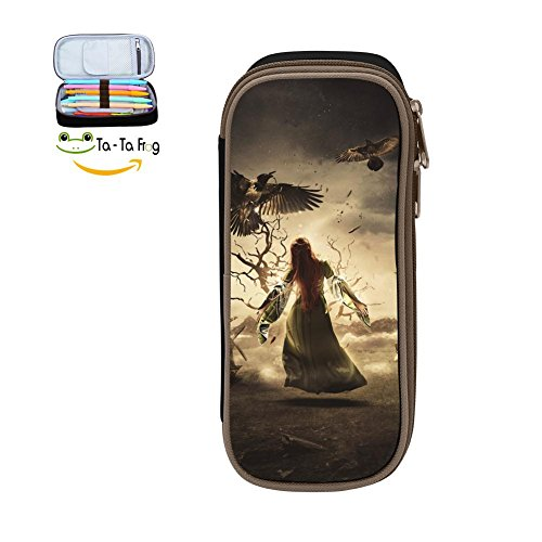 Large Capacity Canvas Mobile Phone Case Portable For Boy ,Print Faith ,Black by bagshome