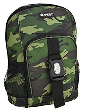 HI-TEC Camo Junior Kids Rucksack Backpack Camouflage: Amazon.co.uk ...