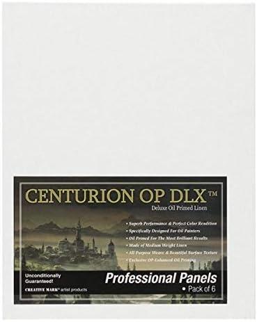 Centurion Deluxe Oil Primed Linen Panel 3-Pack 11x14