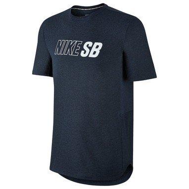 Nike Mens SB Skyline Dri-Fit Graphic T-Shirt Obsidian Hea...