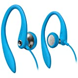 Philips SHS3200BL/37 Flexible Ear Hook Headphones, Blue