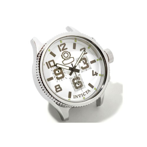 Invicta Russian Diver Grand Limited Edition White Dial Stainless Steel Desk Clock 1787 ()