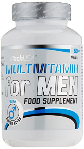 BioTech USA Multivitamin- 60 Tabletten, 1er Pack (1 x 82.8 g)