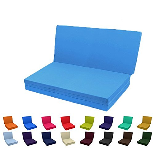 Brand New Solid Color TriFold Bed White Foam Floor Mats Single Size, Twin Size, Full Size Or Queen Size