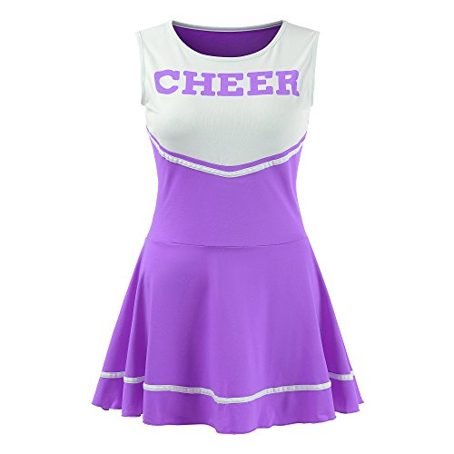 Ourlove Fashion Women's Musical Uniform Fancy Dress Cheerleader