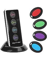 Wyszukiwarka kluczy, bezprzewodowy lokalizator kluczy 1 w 4, bezprzewodowy lokalizator z 1 nadajnikiem i 4 odbiornikami do znajdowania klucza, portfela, pilota, telefonu i zwierzaka