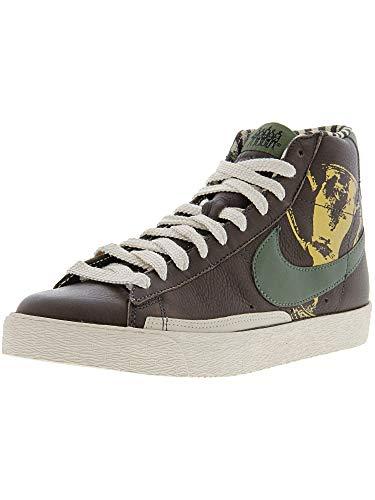 Nike Men's Blazer High Premium Bfive High-Top Leather Basketball Shoe