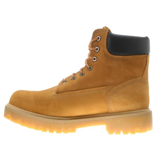 "Timberland PRO 65016 Hommes Direct Attach 6"" Steel Toe démarrage (Wheat, 9.5 W US)"