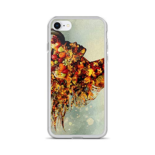 (iPhone 7/8 Case Anti-Scratch Phantasy Imagination Transparent Cases Cover Mabon Fantasy Dream Crystal)