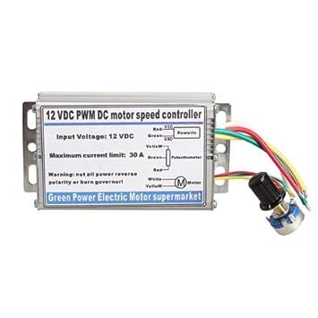 tenflyer 2 V 30 A DC Motor Speed Kontrolle PWM V RC Controller ...