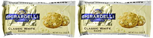 Ghirardelli Classic White Chocolate Chip, 11 oz, 2 pk (White Mini Creamer)