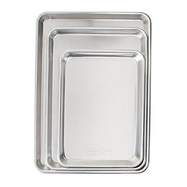 Nordic Ware 43174 3 Piece Baker's Delight Set, Aluminum