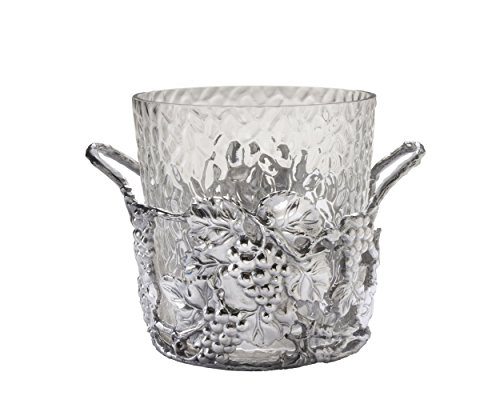 Arthur Court Designs Aluminum Glass Grape Champagne Bucket - Diameter 10.5'' Height: 9'' by Arthur Court