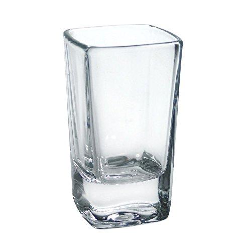 Arcoroc C3966 2-3/4 Oz. Tall Square Shot Glass - 72 / CS
