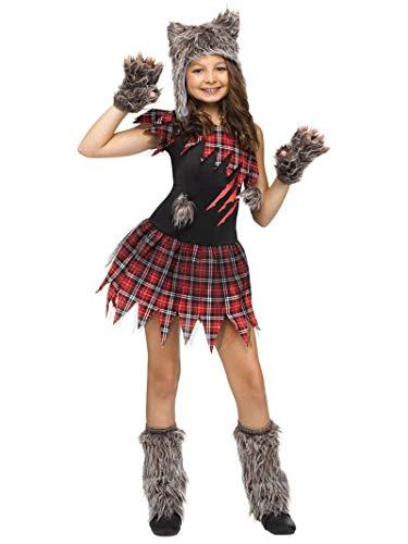 Little Girl Halloween Costume Ideas (Fun World Wild Wolfie Girl Kids)
