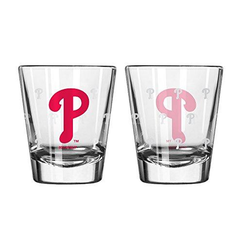 (Boelter Shot Glasses 2-Pack - Philadelphia Phillies)