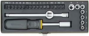 """Salki -Proxxon 2223072 - Juego atornillador 1/4"""" 28 pcs"""