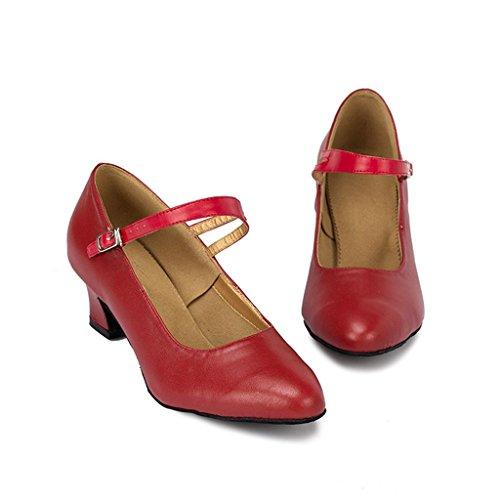 Meijili - salón mujer Rojo