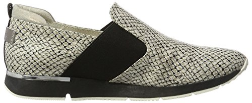 Tamaris Damen 24663 Slipper Weiß (Offwht.STR.COM)