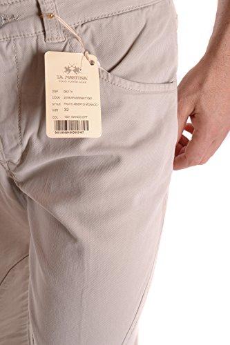 La Martina Herren MCBI178008O Grau Baumwolle Jeans