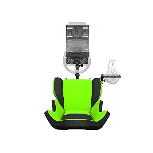 Openwheeler Racing Wheel Stand Cockpit Green on Black   For Logitech
