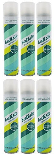 Batiste Dry Shampoo, Clean and Classic Original, 6.73 Fl Oz, Pack of 6