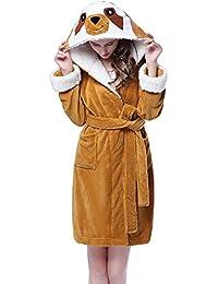 c2026e2645 Adult Unisex Unicorn Robe Hooded Bathrobe