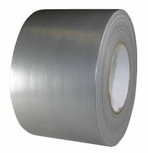 Priotec - Rollo de cinta americana (100 mm x 50 m, 310 mµ), color plateado