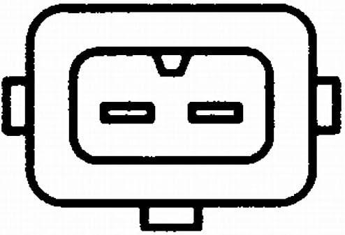 HELLA 6PU 009 146-061 Impulsgeber Anschlussanzahl 2 Kurbelwelle
