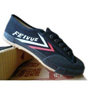 Feiyue-Clsicos-Zapatos-negros-de-tela-para-kung-fu-y-parkour